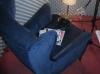 Sofa- & Zeitungsaufnahmen