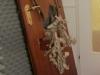 Die zerhackte Tür-nicht viel dran
