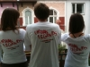 3 J's mit Urban Legends T-Shirt-Rückseite