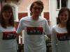 3 J's mit Urban Legends T-Shirt-Vorderseite